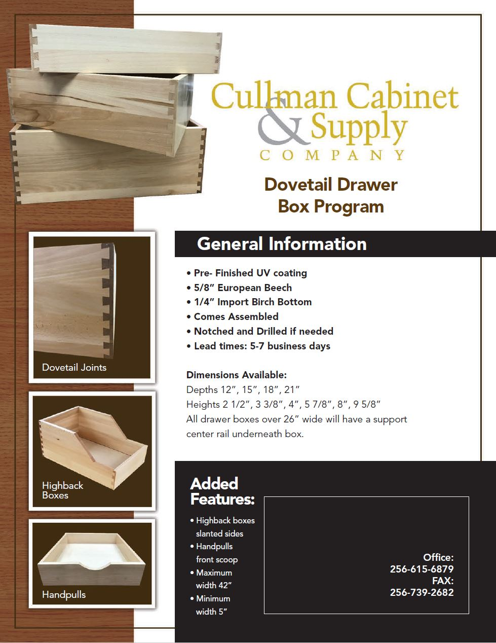 Drawer Box Flyer