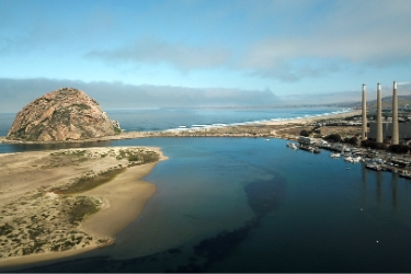 Aerial Photography of Morro Bay