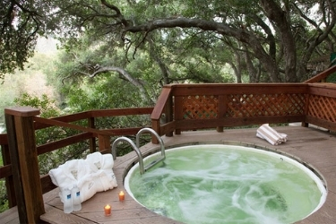 Outdoor Hot Spring pool