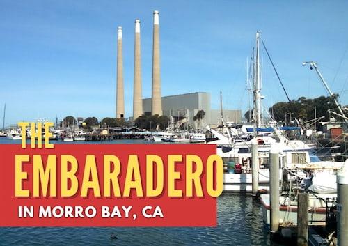 The Embarcadero in Morro Bay, CA