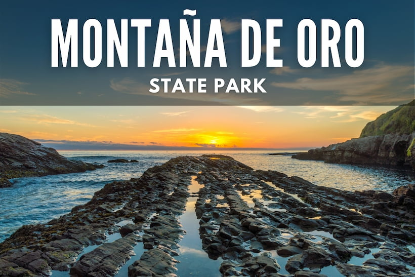 Sunset at Montana de Oro State Park
