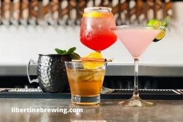 Drinks from The Libertine Pub
