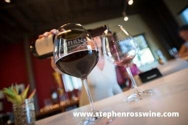 Stephen Ross wine glass