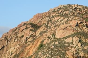 Morro Rock closeup