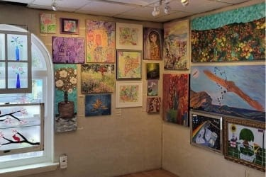 Exhibition inside the Art Center