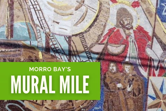 Morro Bay's Mural Mile - Yesterday, Today & Tomorrow Tile Mosaic Mural