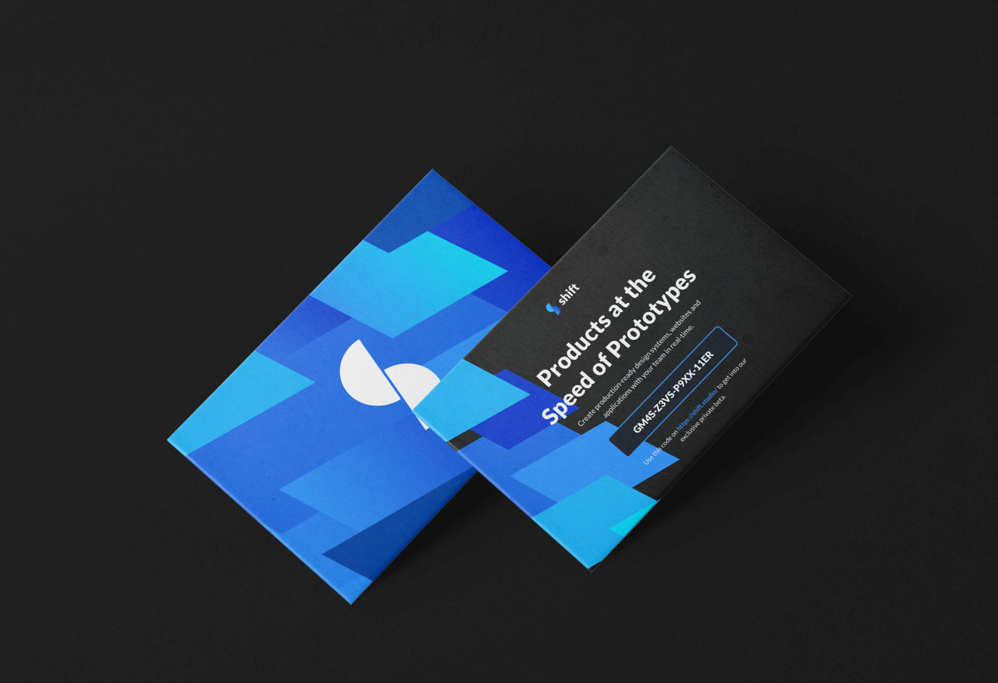 Shift Business Card