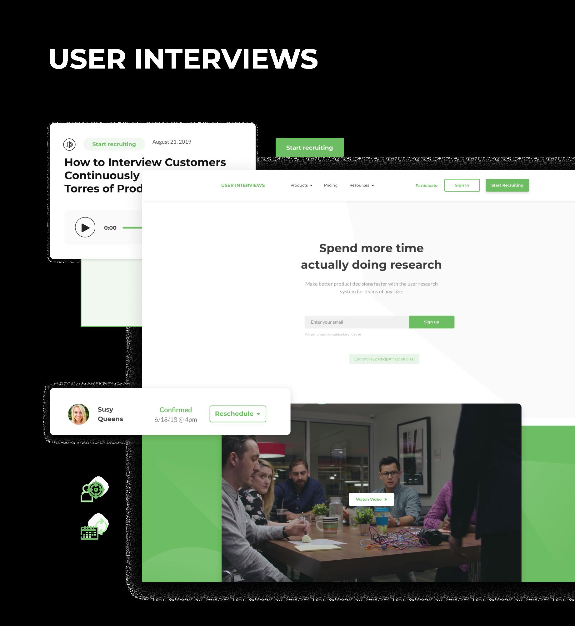 User Interviews
