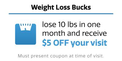 Weight Loss Bucks coupon