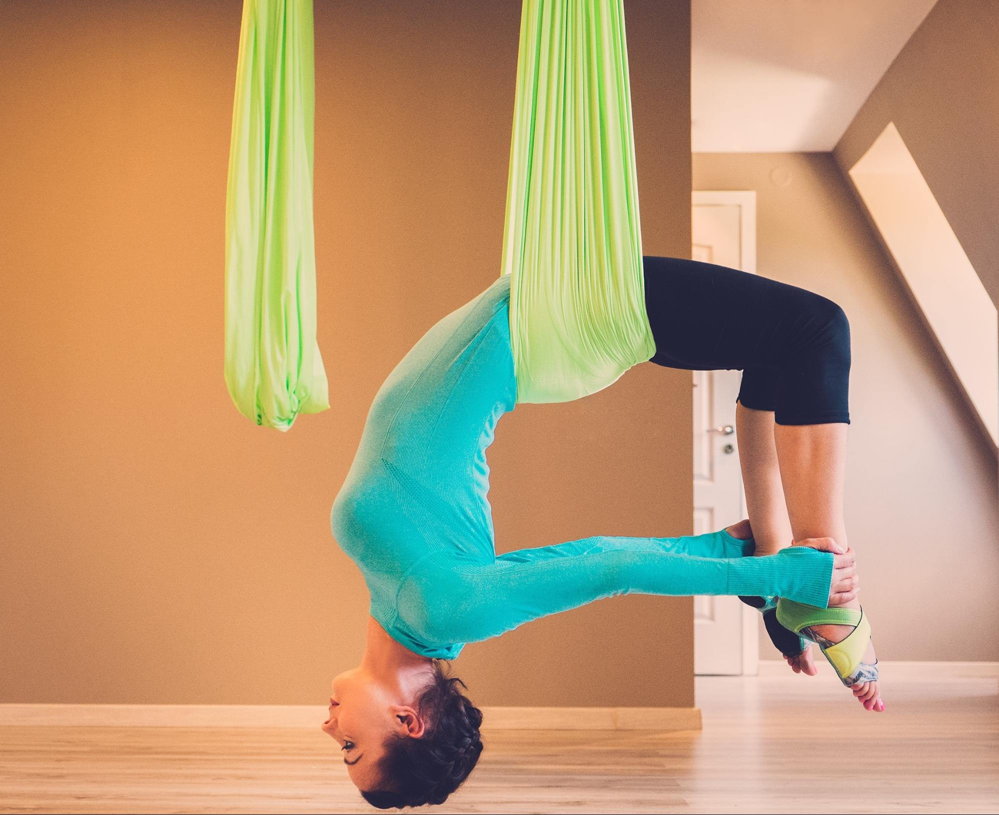 The 6 Best Aerial Yoga Classes In London Of 2018