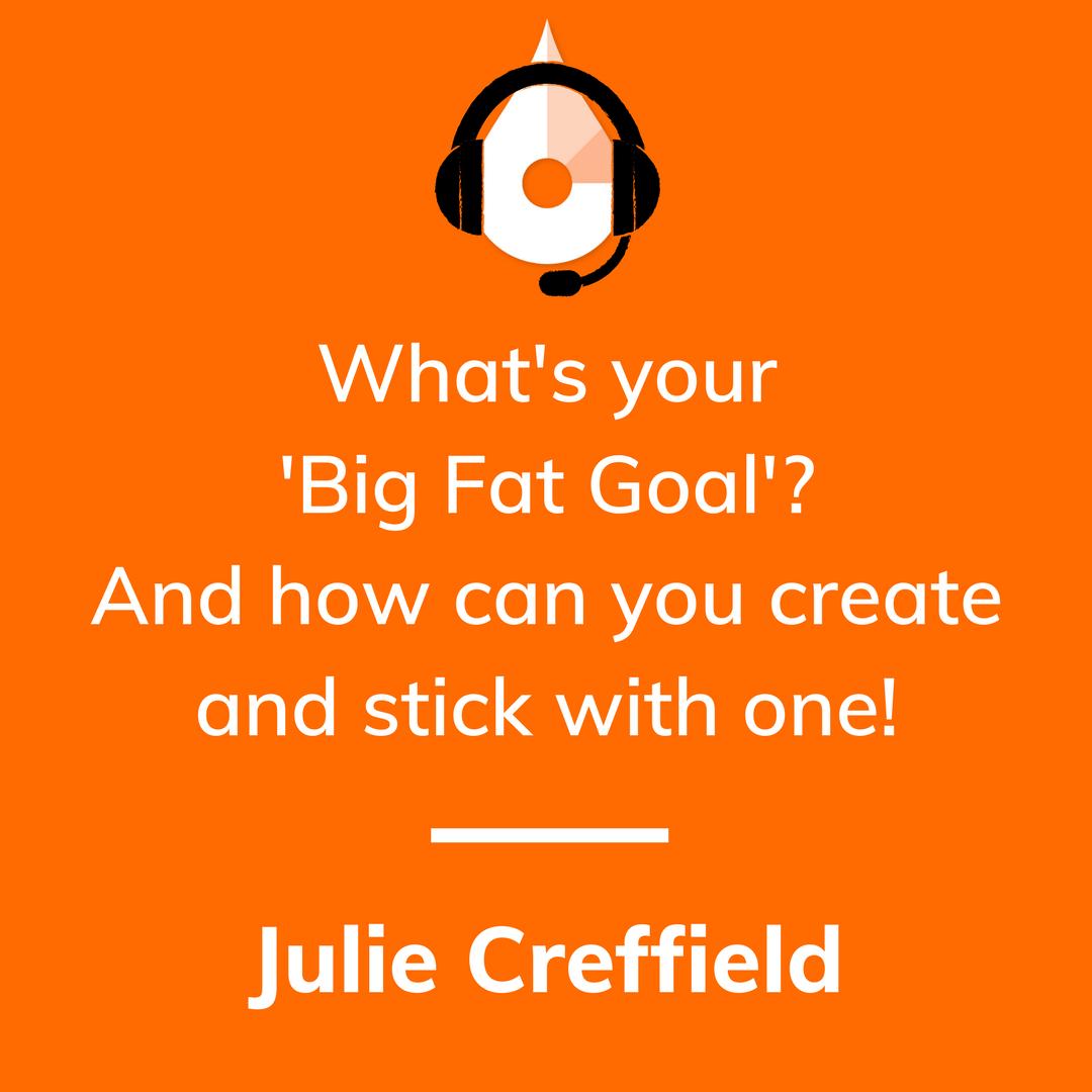 SweatCast | Too Fat to Run, Julie Creffeild