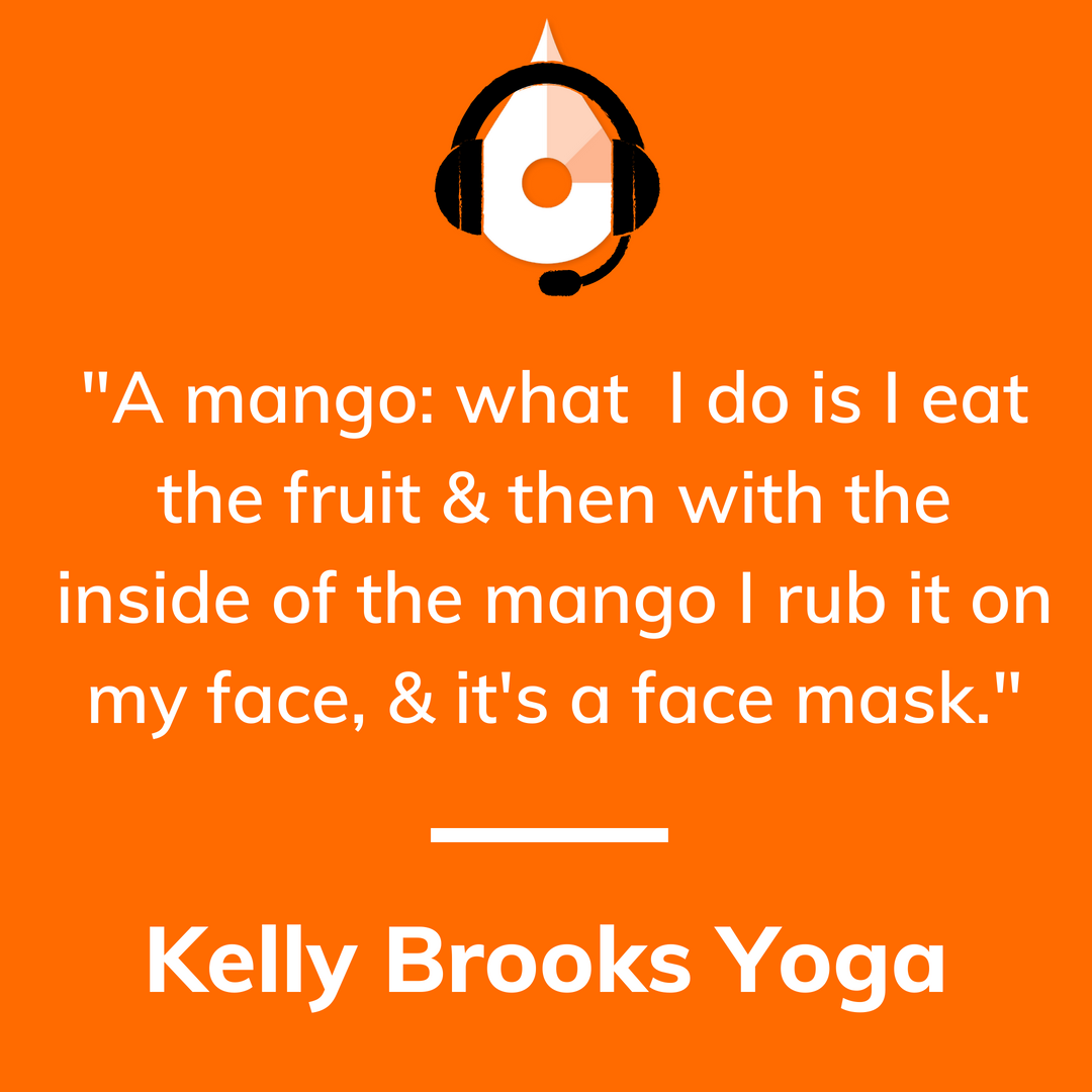 Kelly Brooks Yoga Podcast