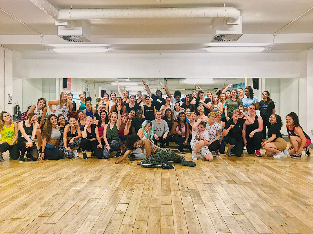 Bam Bam Boogie Fitness dance class