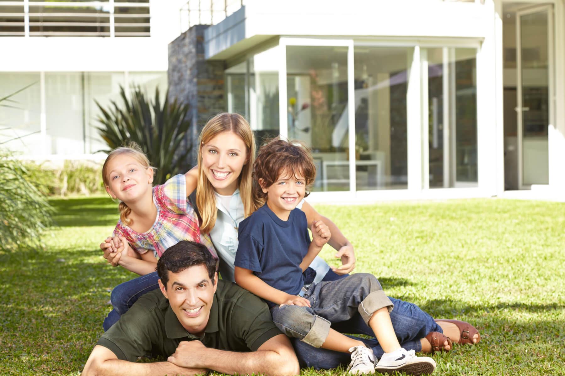 Happy Propane Customer Family
