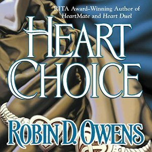 the cover heart choice by robin d. owens, a book that deals with infertility