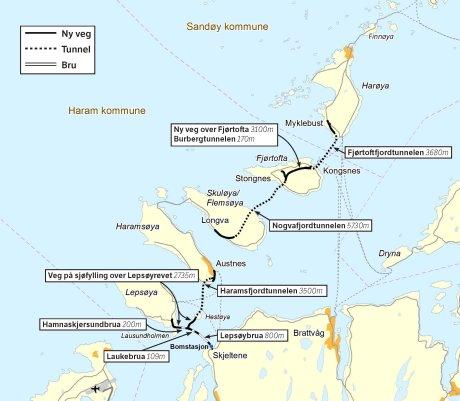 Tekniske installasjoner Nordøyvegen