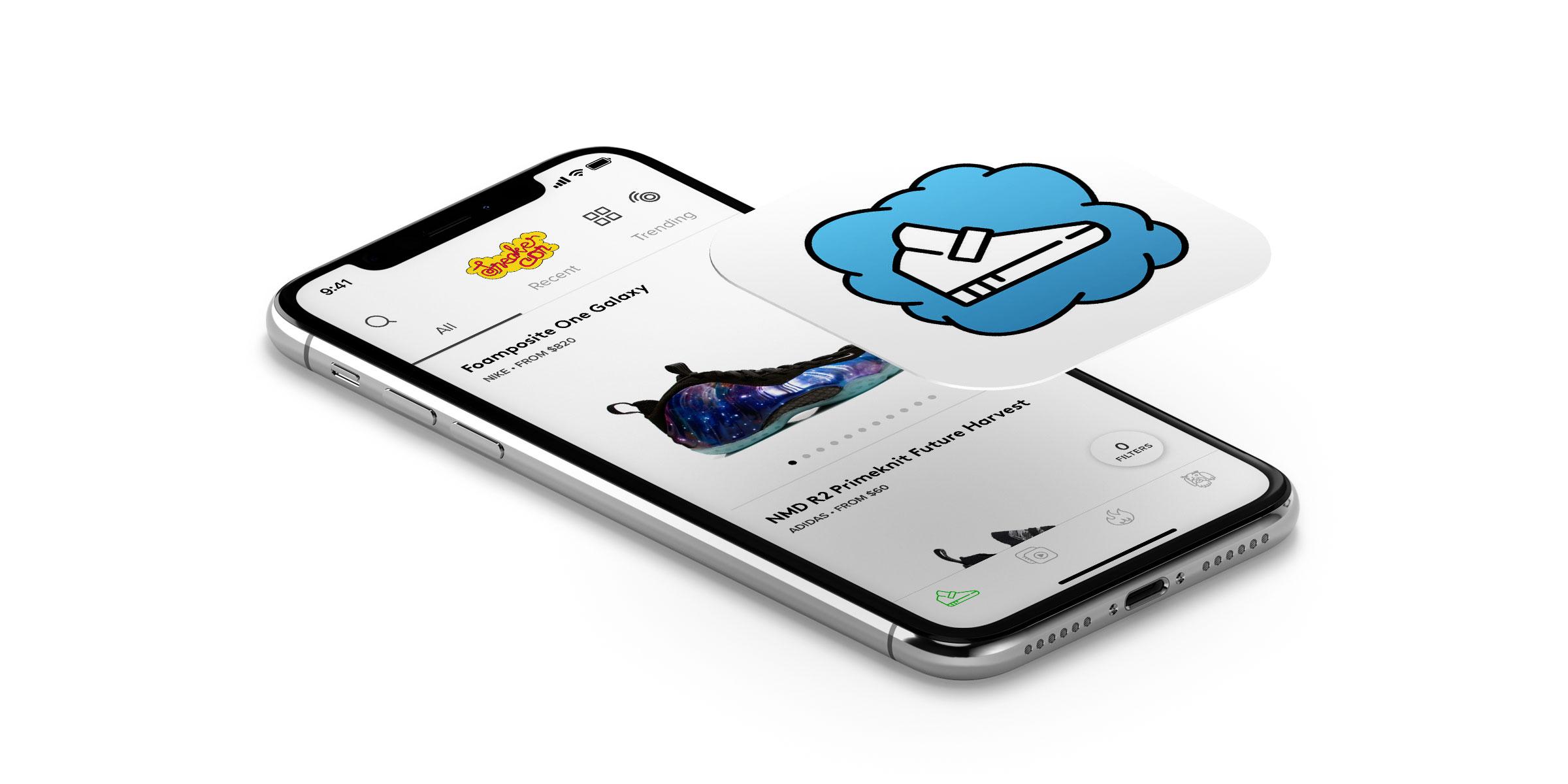 iPhone Sneaker Con app screenshot