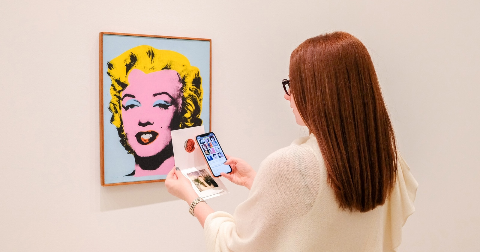 NFC Powers Interactive Andy Warhol Experience at Lévy Gorvy Gallery