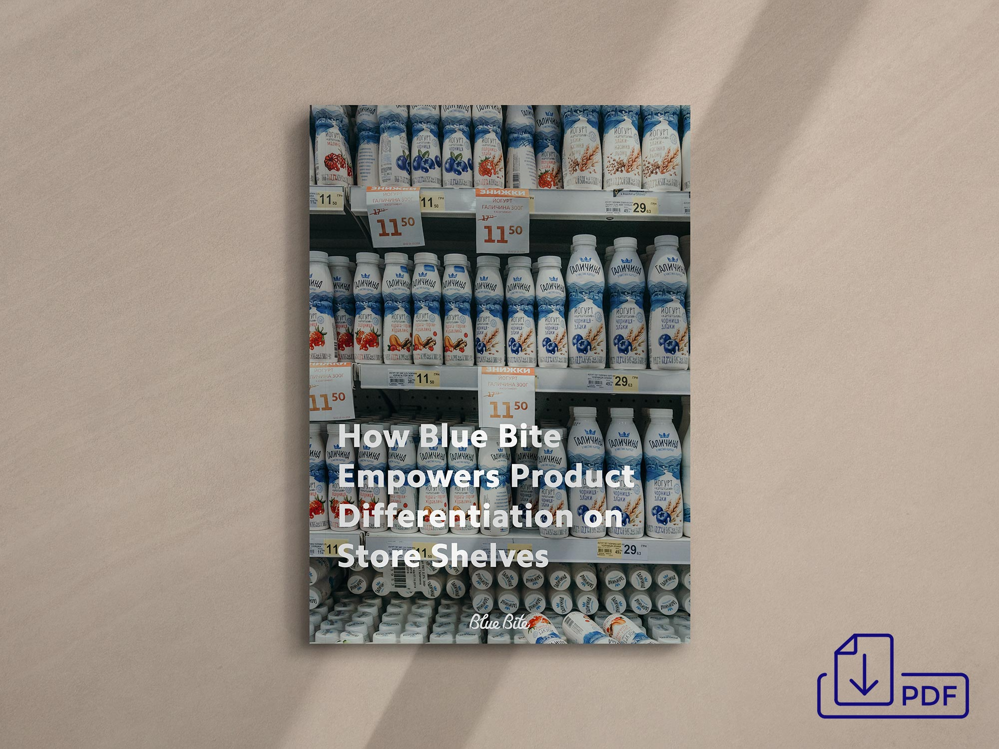 How Blue Bite Empowers Product Differentiation on Store Shelves PDF