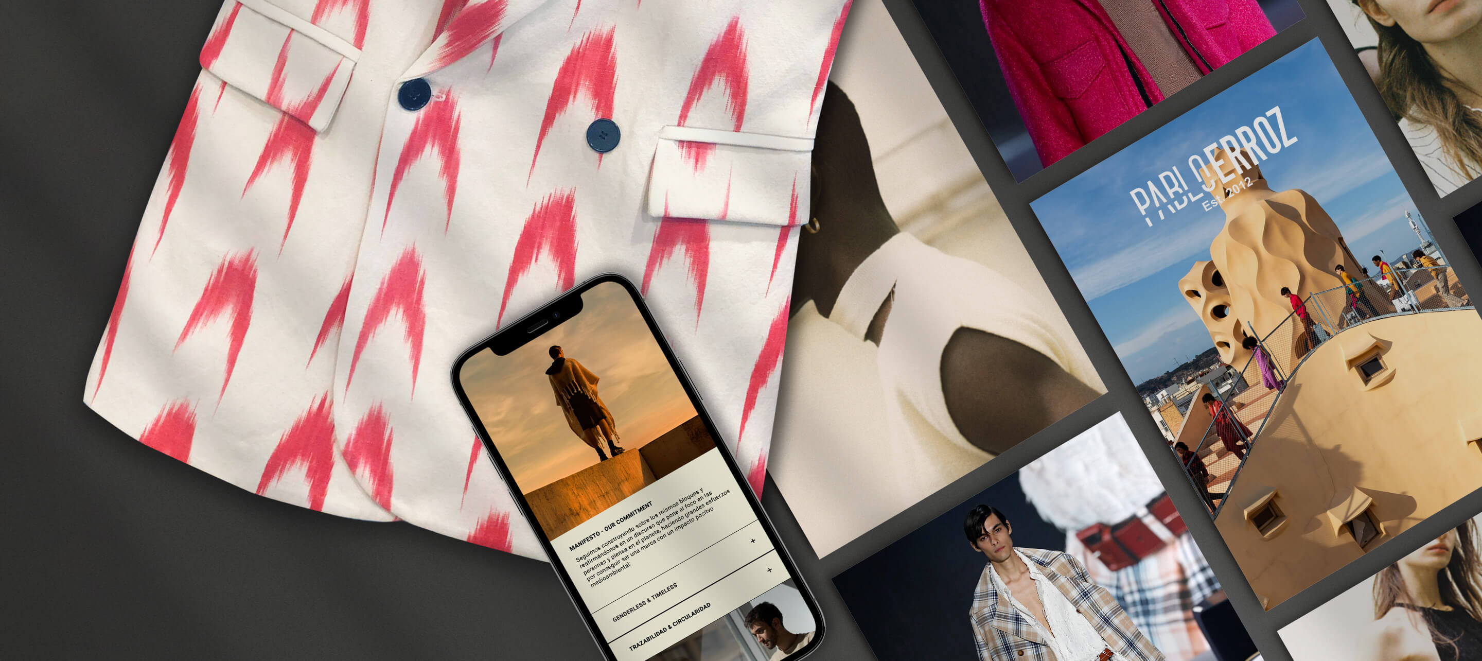 How Pablo Erroz created a new kind of fashion that gets consumers involved in circularity.