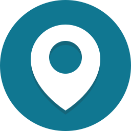 teal location icon