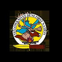 Yellowknife Dene First Nation logo.