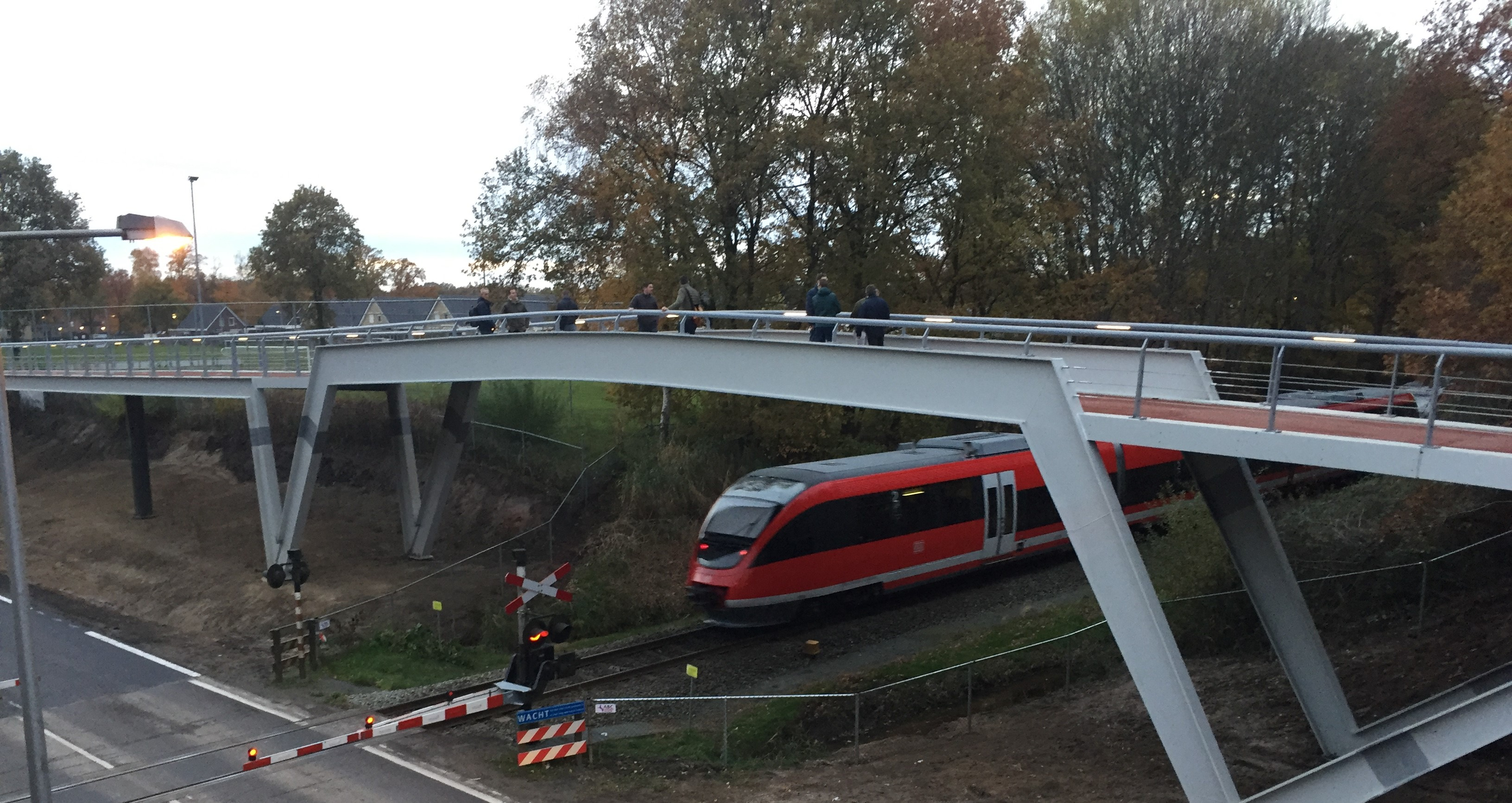 Fietsbrug Euregioweg