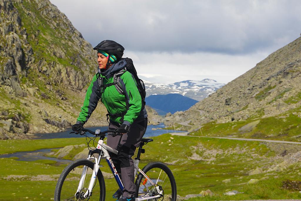 Bilde av syklist