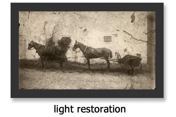 Photo Restoration Light
