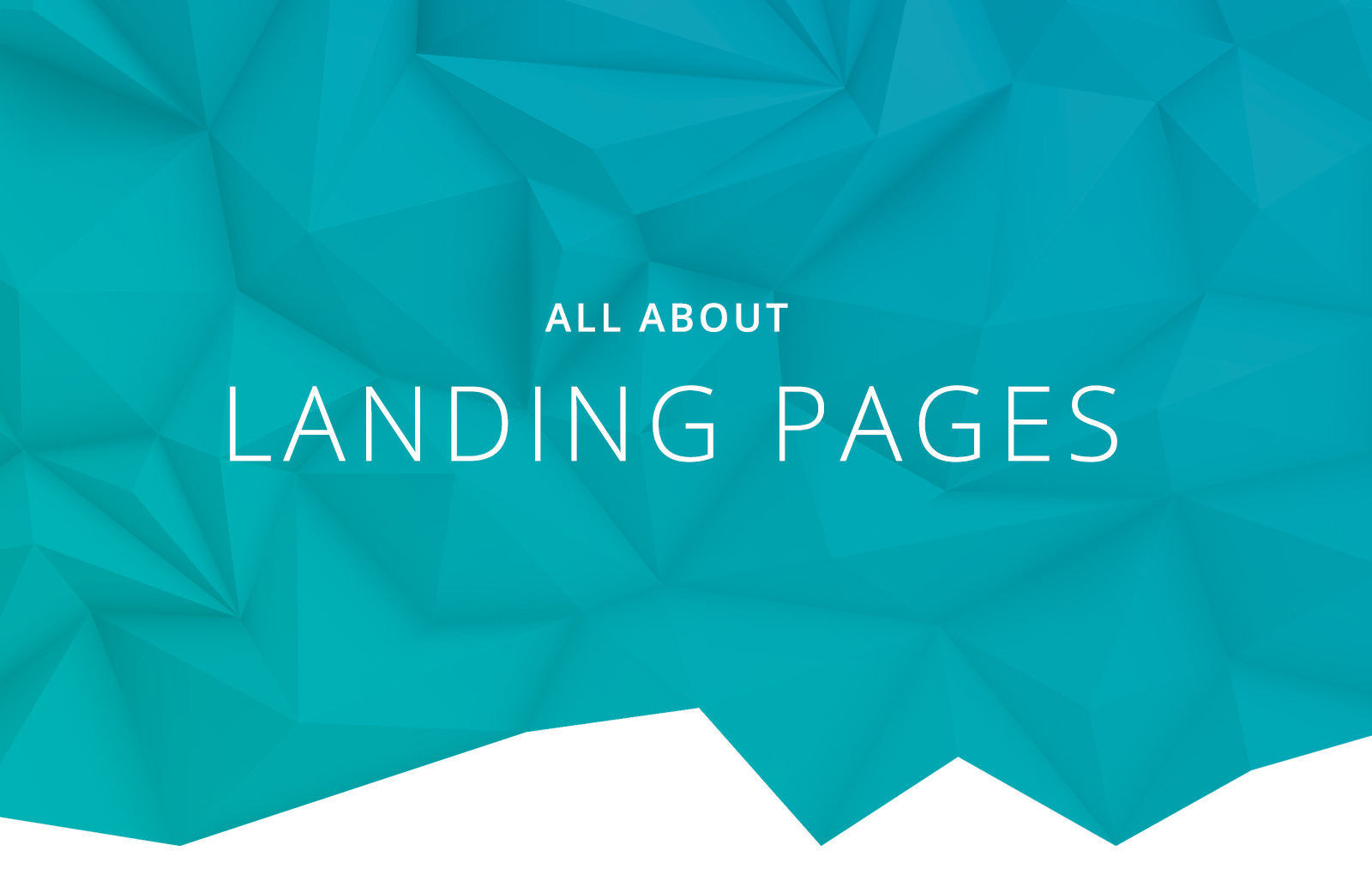 An effective landing page is vital to the success of any advertising campaign and with the right tools they can be extremely easy to build.