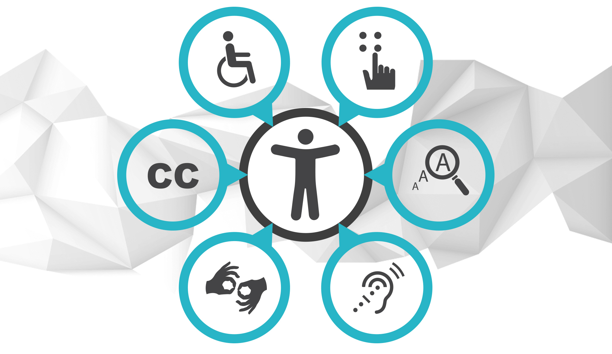 What are the key pointers to anyone embarking on improving their accessibility?