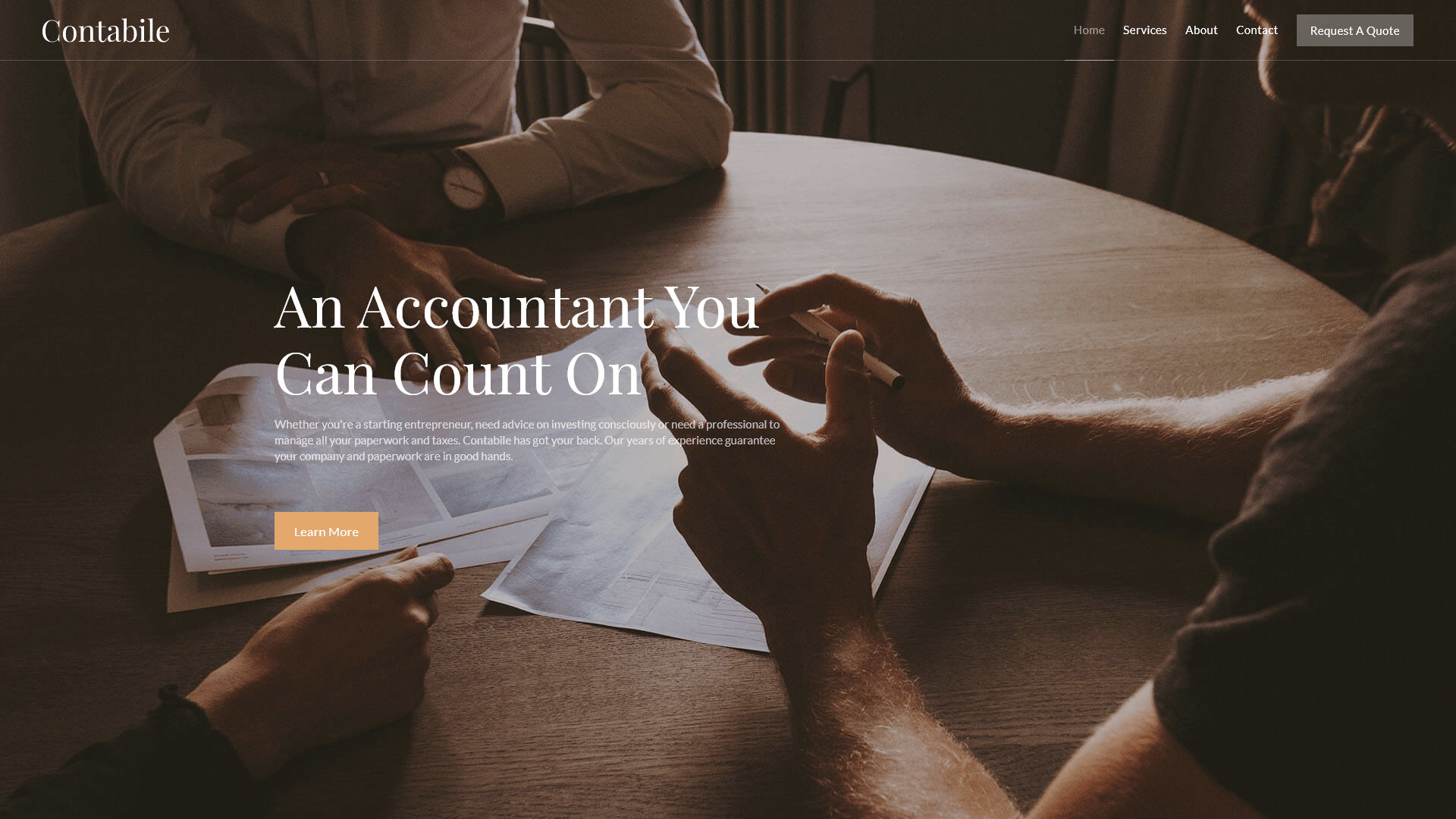 contabile accounting template