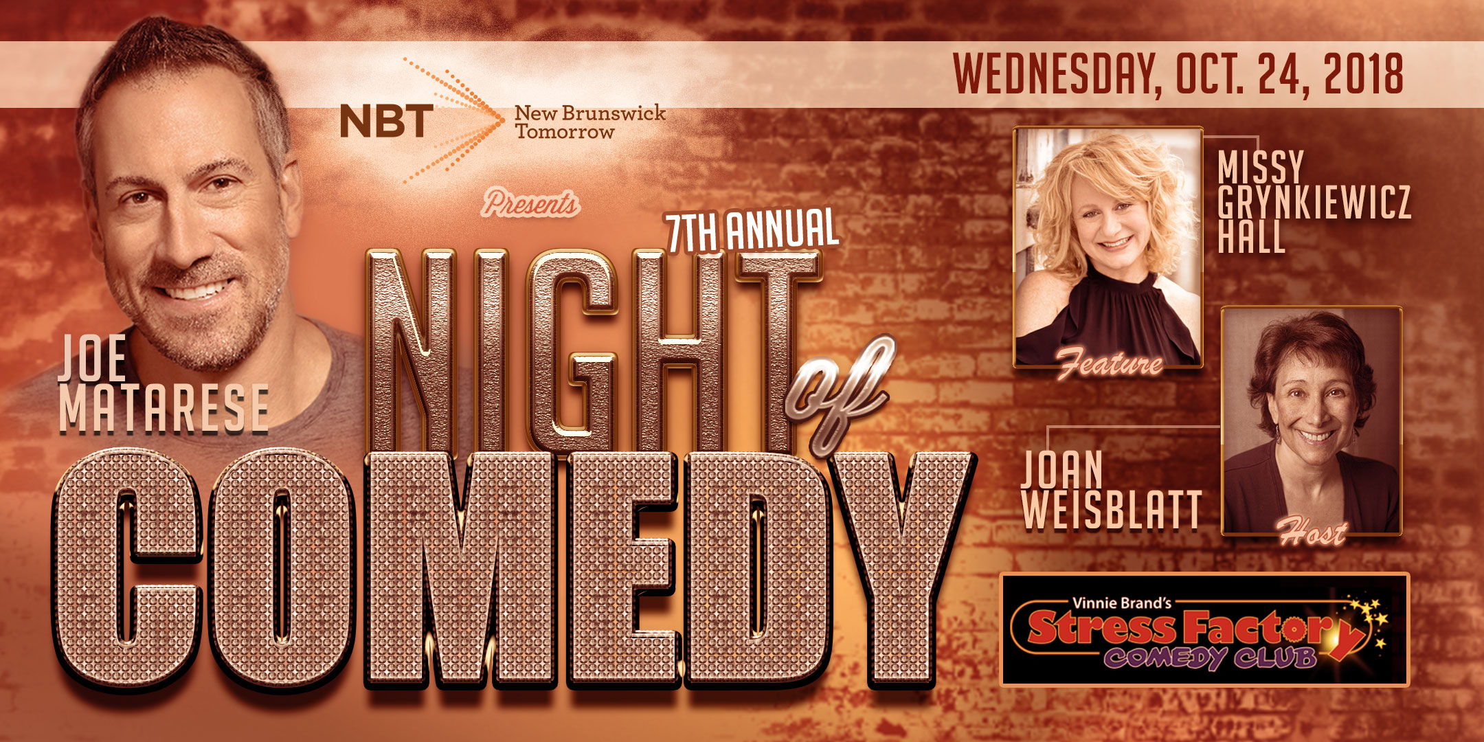 NBT Night of Comedy Banner