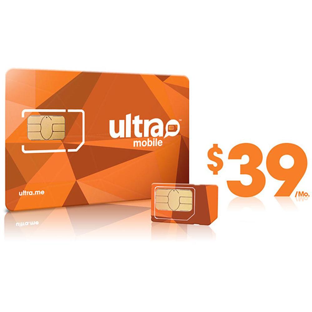 ultra mobile sim card