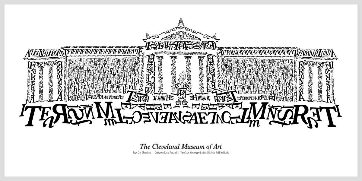 cleveland museum of art graphic