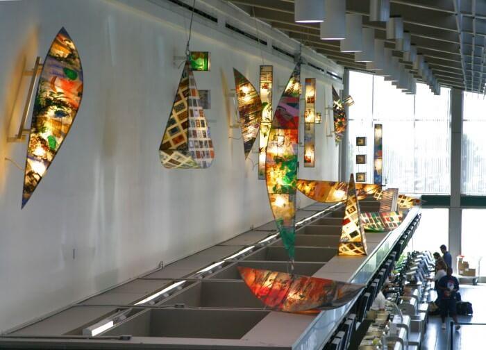 Sacramento Airport Art