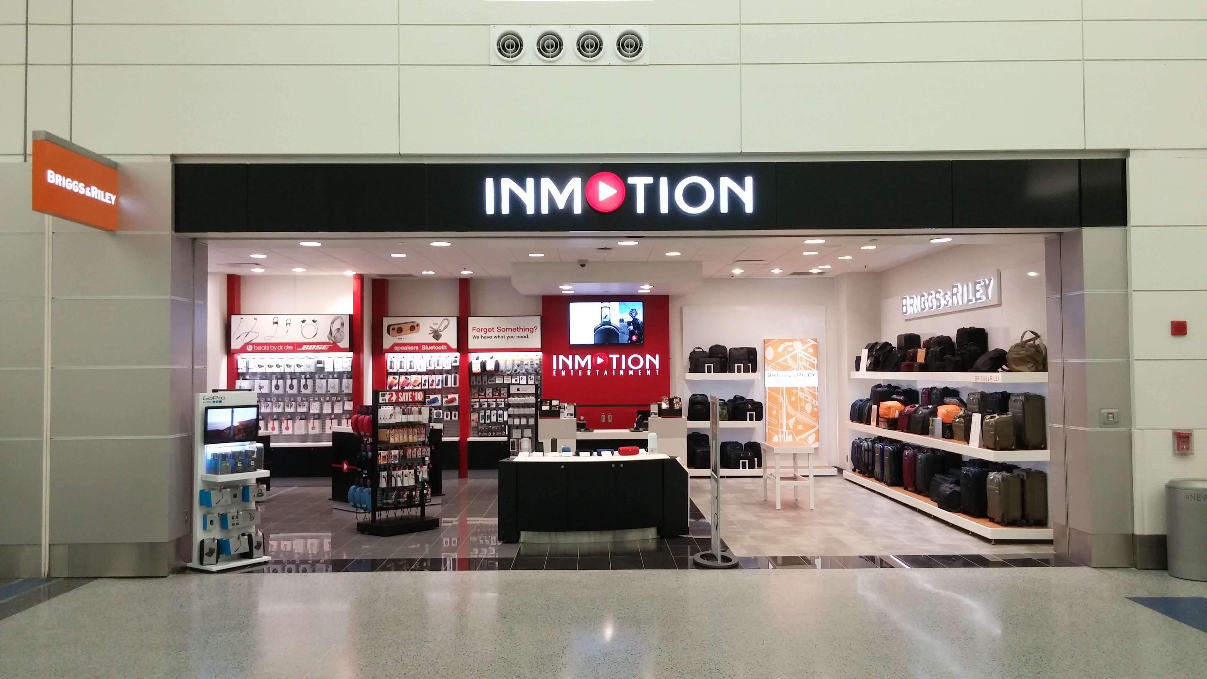 InMotion located in North Terminal at Detroit Metropolitan