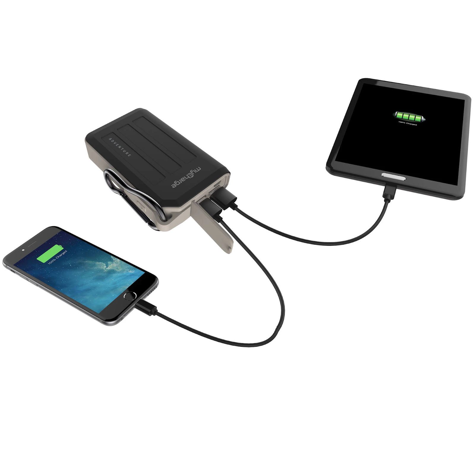 My Charge two device charging