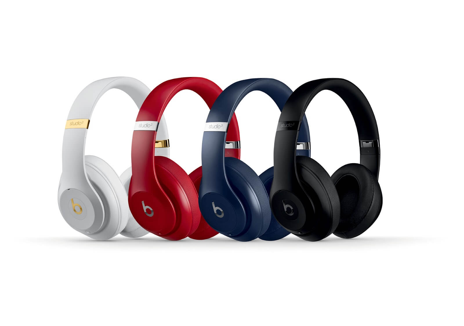 Beats by Dr. Dre Studio 3 Wireless Headphones in 4 different colors