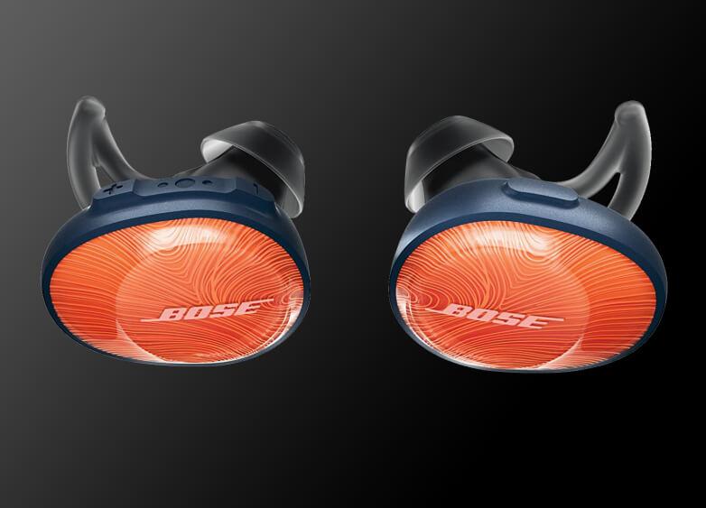 A pair of Bose wireless headphones