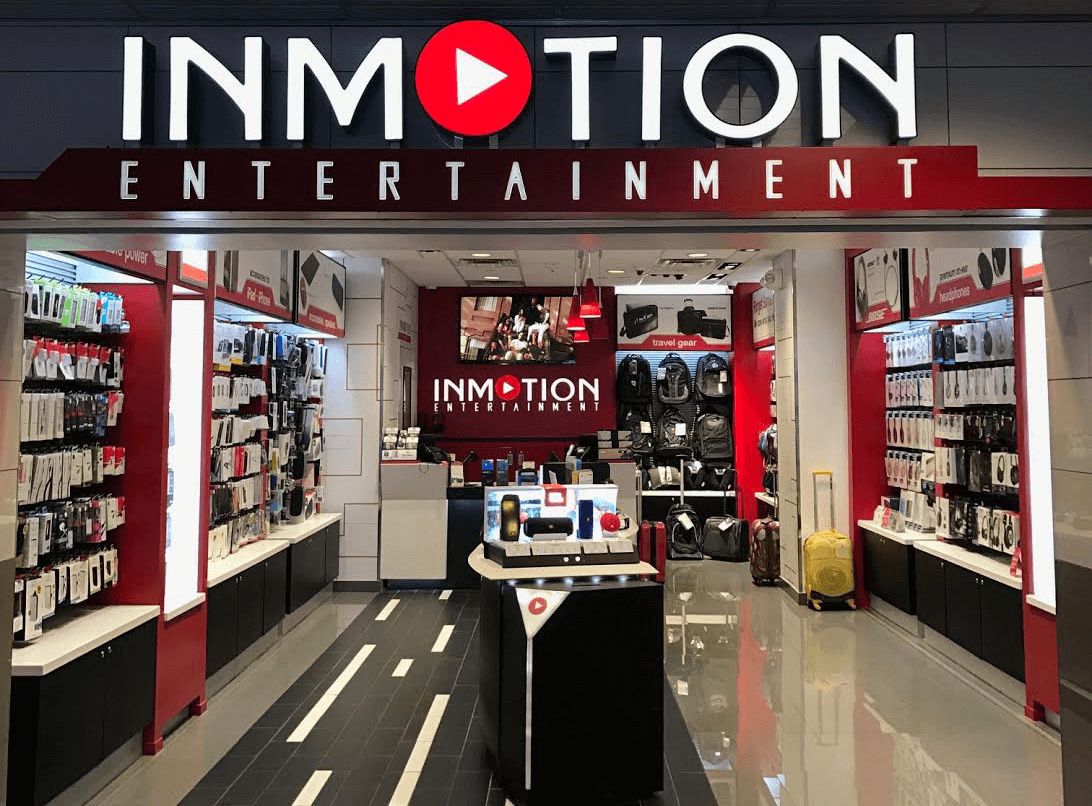 an inmotion entertainment storefront