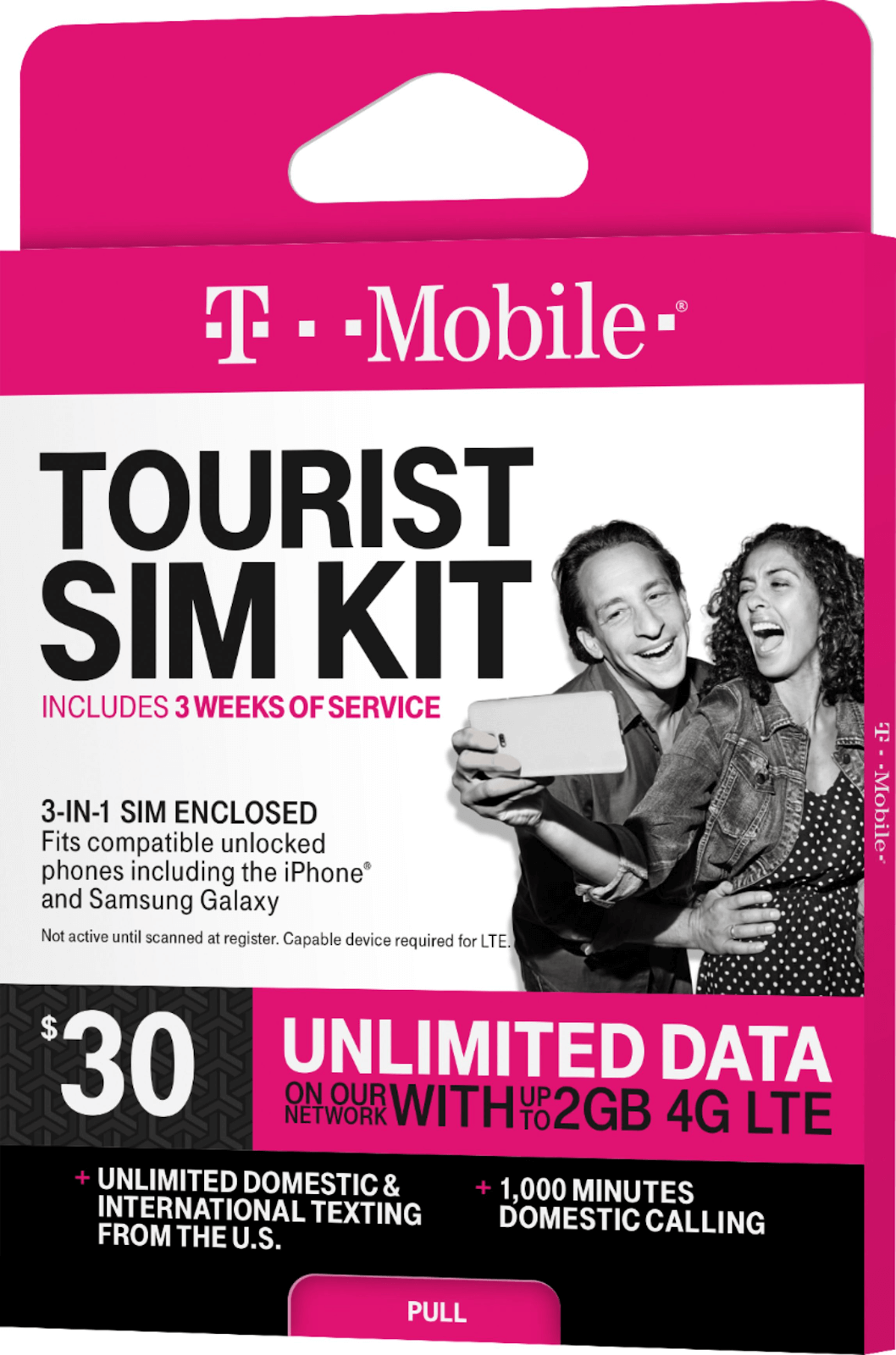 t-mobile tourist sim kit