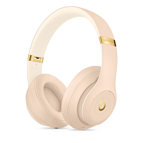 The Beats Studio3 Wireless Headphones sand