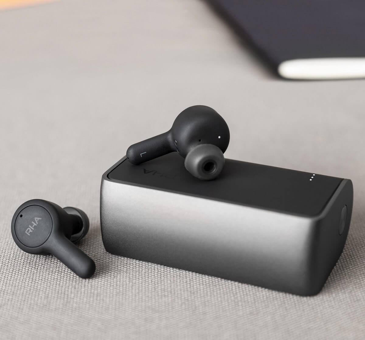 rha trueconnect true wireless earbuds