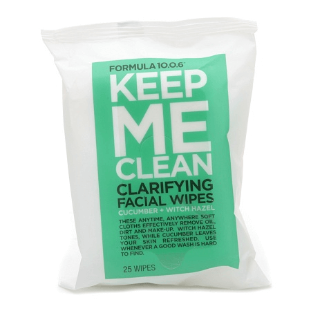 face wipes for a plane ride