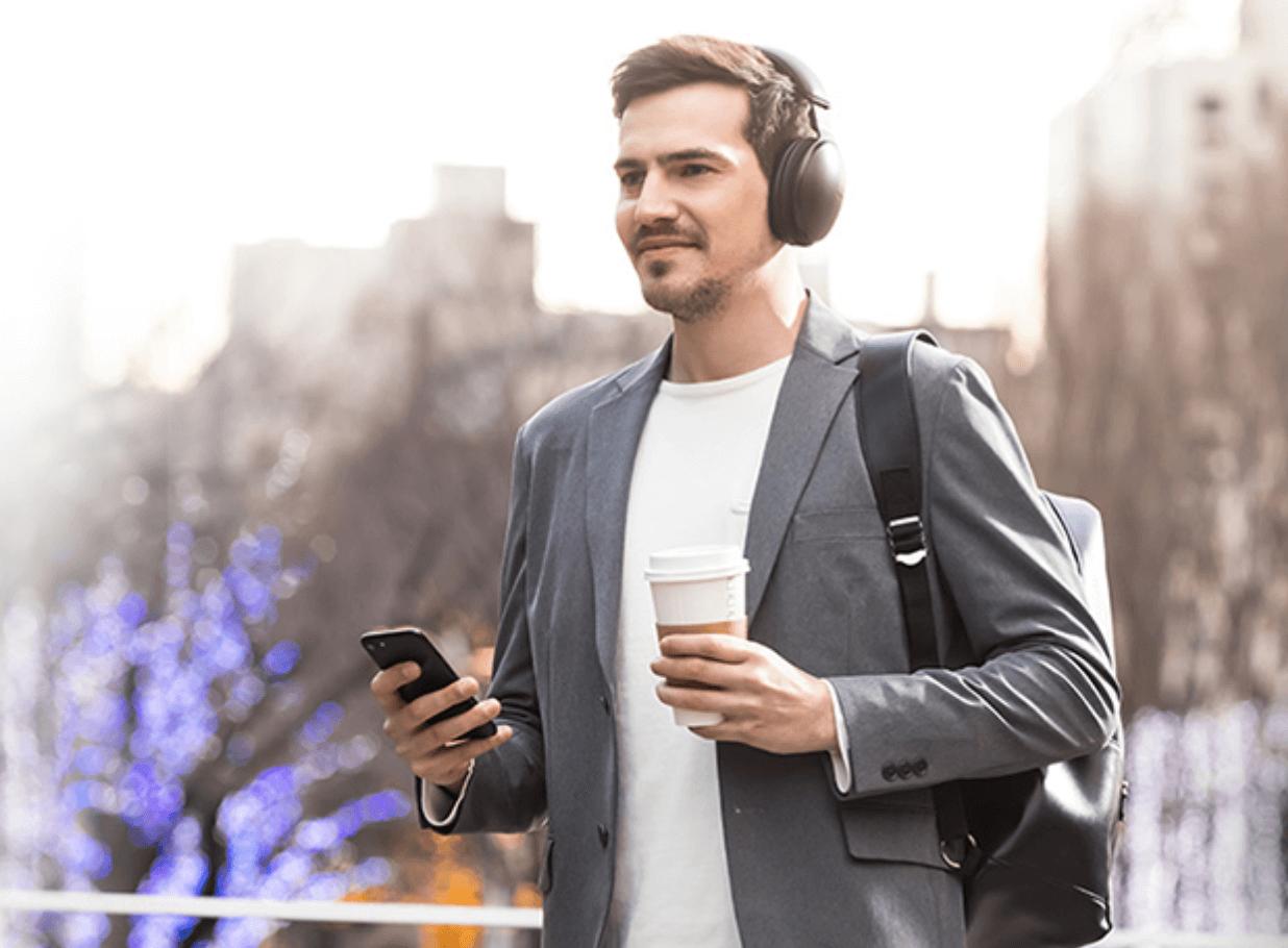 Panasonic Headphones at InMotion