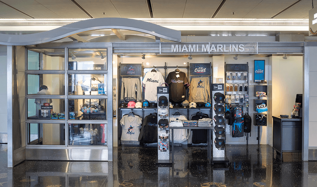Miami Marlins store