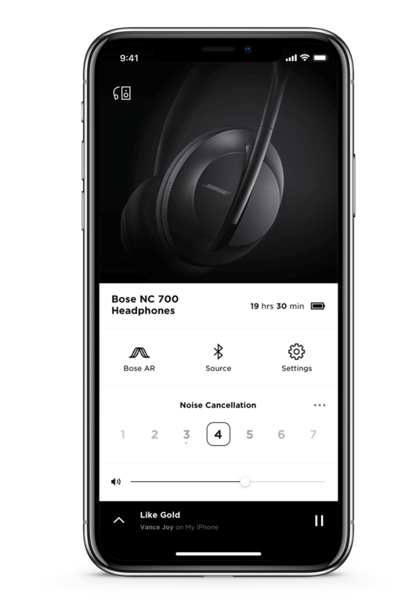 Bose Noise Cancelling App