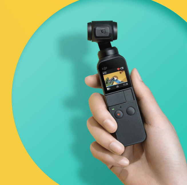 osmo pocket handheld camera