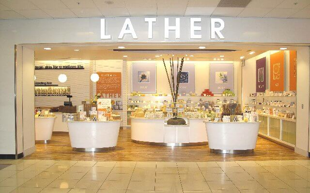 lather store at atlanta airport